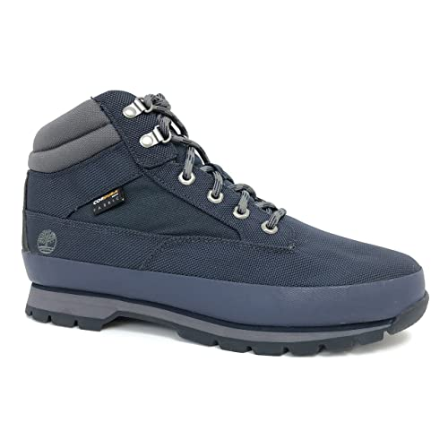 Timberland Men s Mesh Euor Hiker Cordura Fabric Navy Shoes Hiking Boots (US  ... 4fa4ae3dff16
