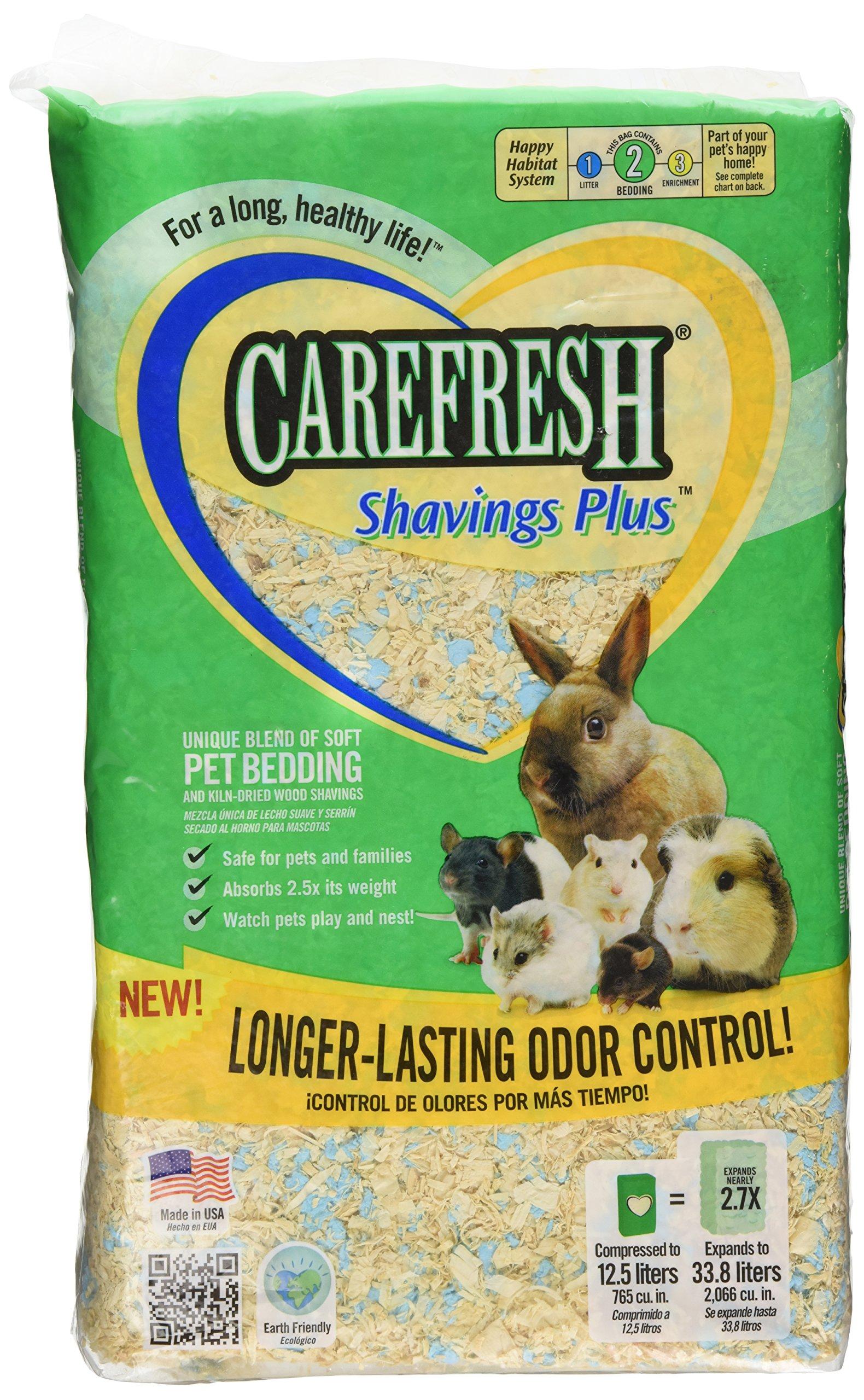 Absorbtion Corp Carefresh Shavings Plus Pet Bedding, 12.5-Liter