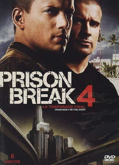 Amazon.com: Prison Break: Seasons 1-4: Dominic Purcell, Wentworth ...