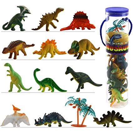Animals & Dinosaurs Bright Dinosaur Toy Figure Bundle Toys & Hobbies