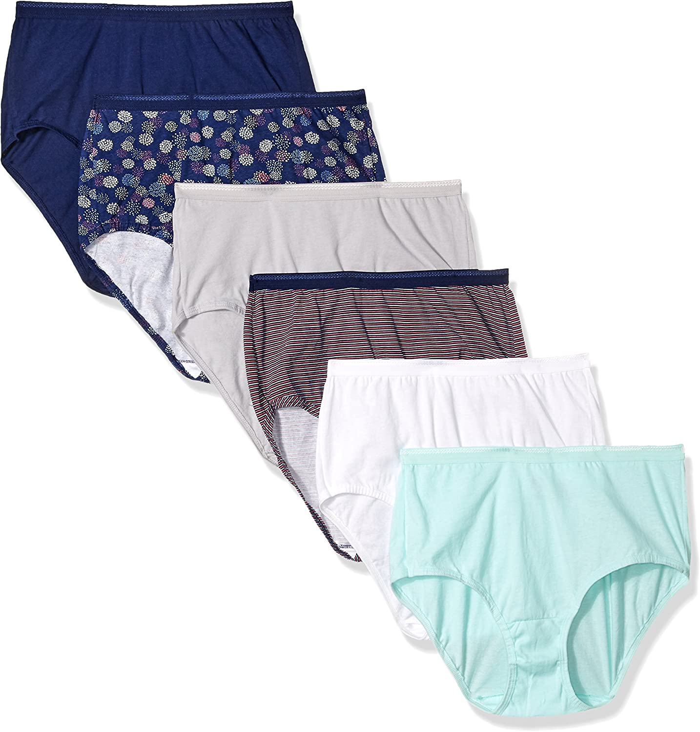 4 Pack High Leg Panty by George Size 10