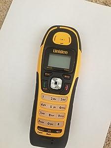 Uniden WXI2077 DECT 6.0 Digital Waterproof Cordless Phone with Caller ID