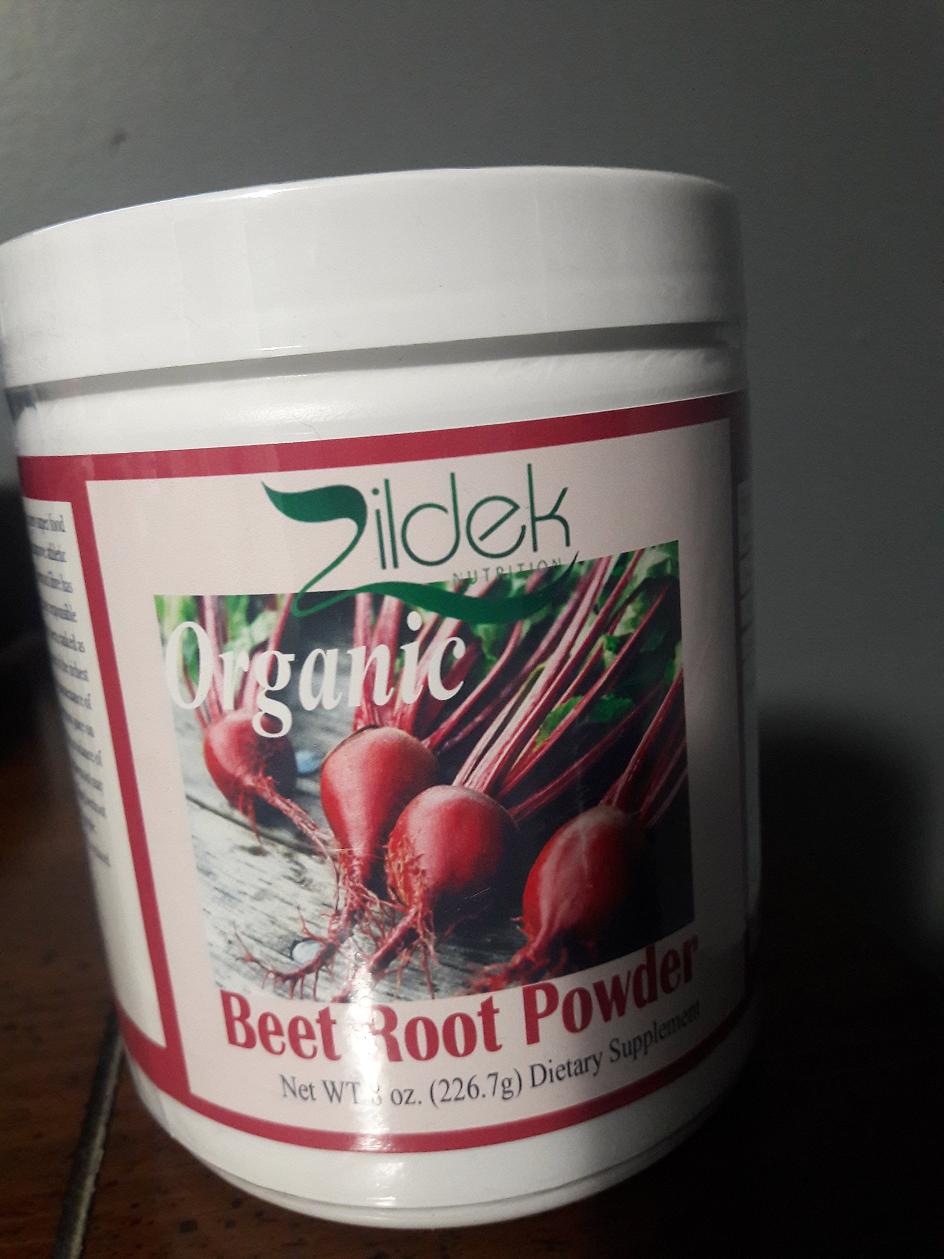 Organically grown Beet Root Powder Pure Powder with Great Essential Vitamin and Minerals 8 oz Tightly seal Jar