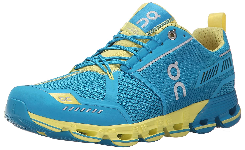 On Running Men's Cloudflyer Sneaker Iron/Sky B00YYJ2YUC 6 B(M) US - Women's Mani/Lemon