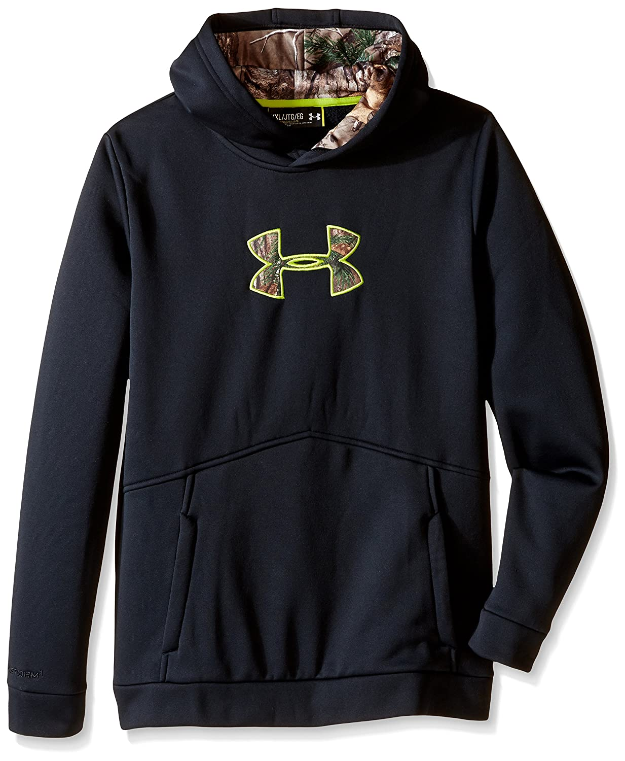Under Armour Boys' Icon Caliber Hoodie Under Armour Apparel 1286129