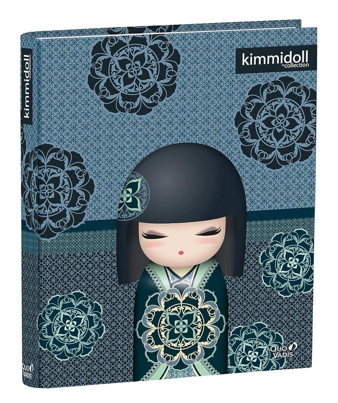 dbc06894a2ea06 Quo Vadis - Kimmidoll Classic - Classeur 4 Anneaux Dos Rond - 26,8x32 cm