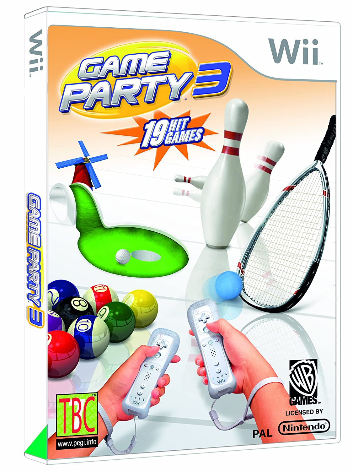 games party 3 nintendo wii amazon co uk pc u0026 video games