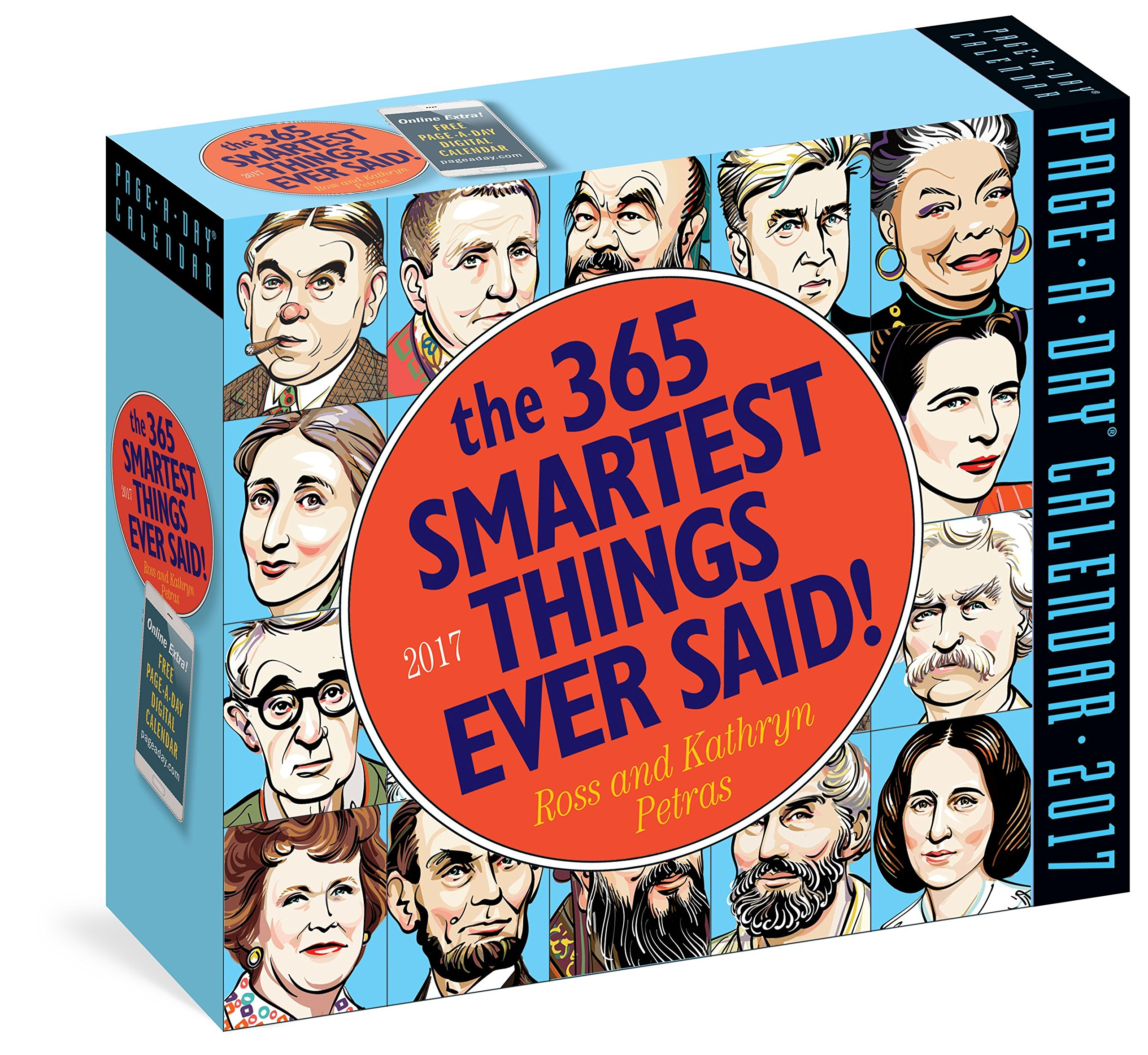 The 365 Smartest Things Ever Said! Page-A-Day Calendar 2017 by Workman Publishing Company