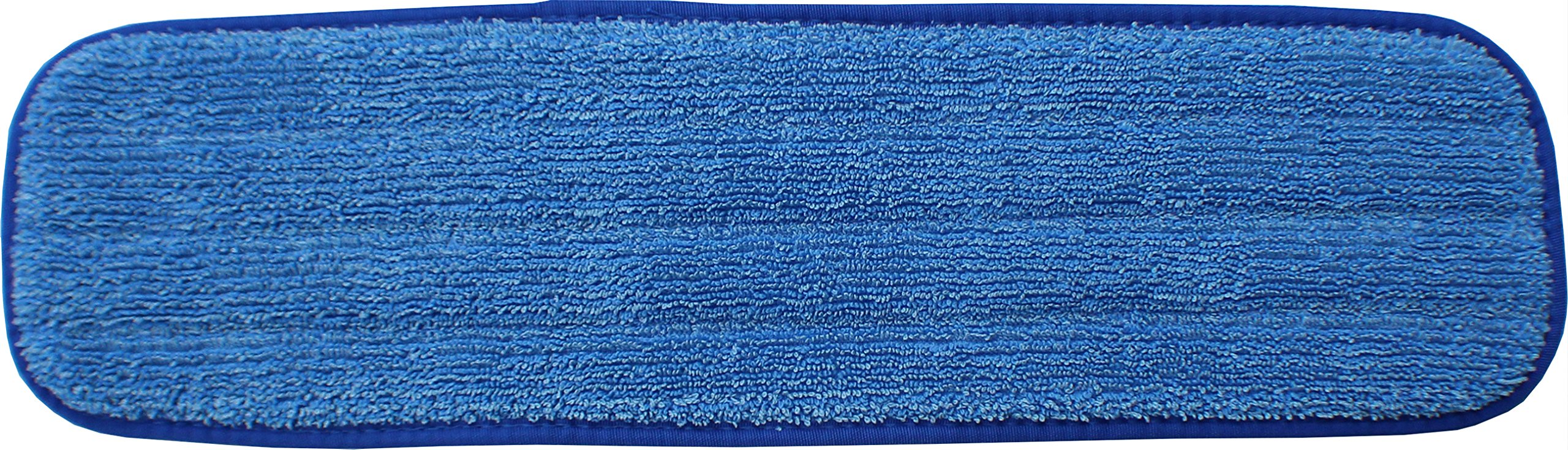 48'' Microfiber Mop Pads - Velcro, Launderable, Wet/Dry : 12 Pack by Direct Mop Sales (Image #2)