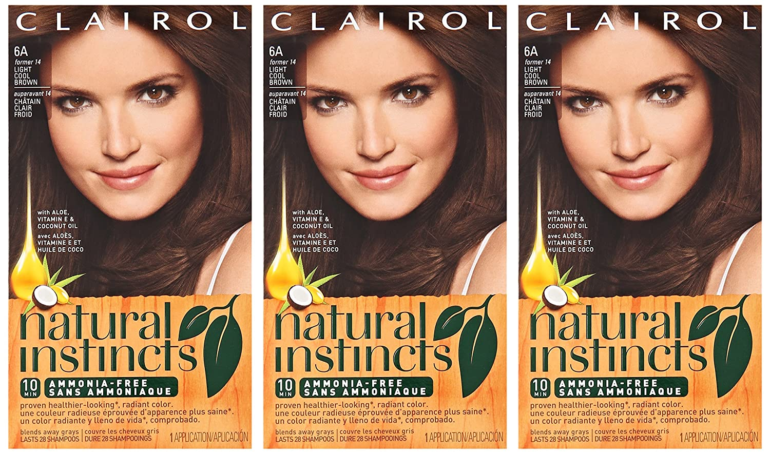 Amazon Clairol Natural Instincts Hair Color Light Cool Brown