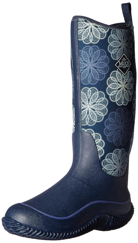 MuckBoots Women's Hale Plaid Boot B00TSUIGQI 6 B(M) US|Navy Snowflake
