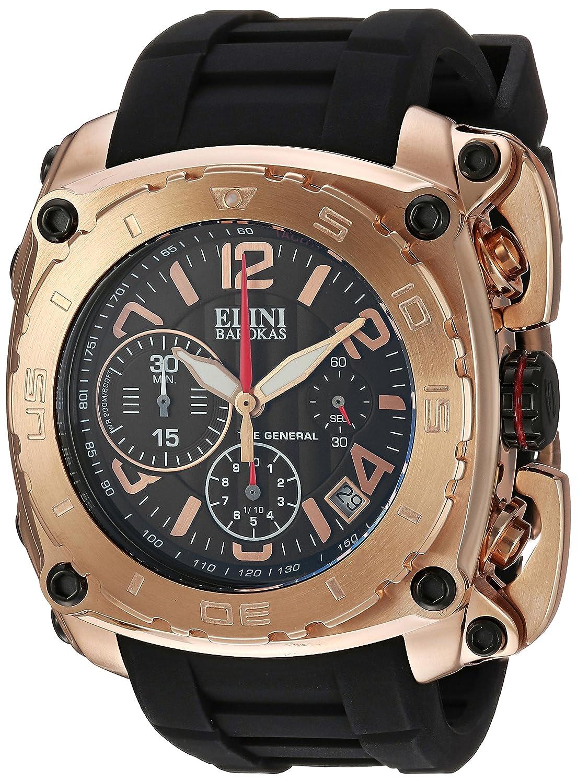 Elini Barokas Herren-Armbanduhr 20010-RG-01