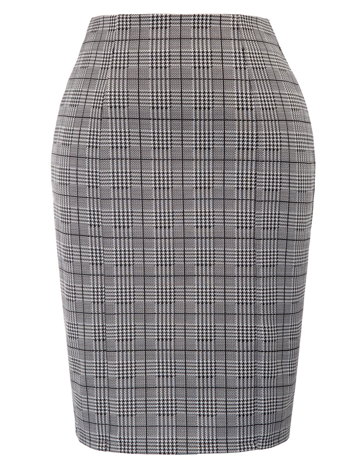 Kate Kasin Womens Stretchy Office Pencil Skirt Wear to Work,Grey Size S by Kate Kasin