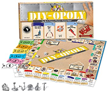 Do it yourself opoly monopoly style board game amazon toys do it yourself opoly monopoly style board game solutioingenieria Gallery