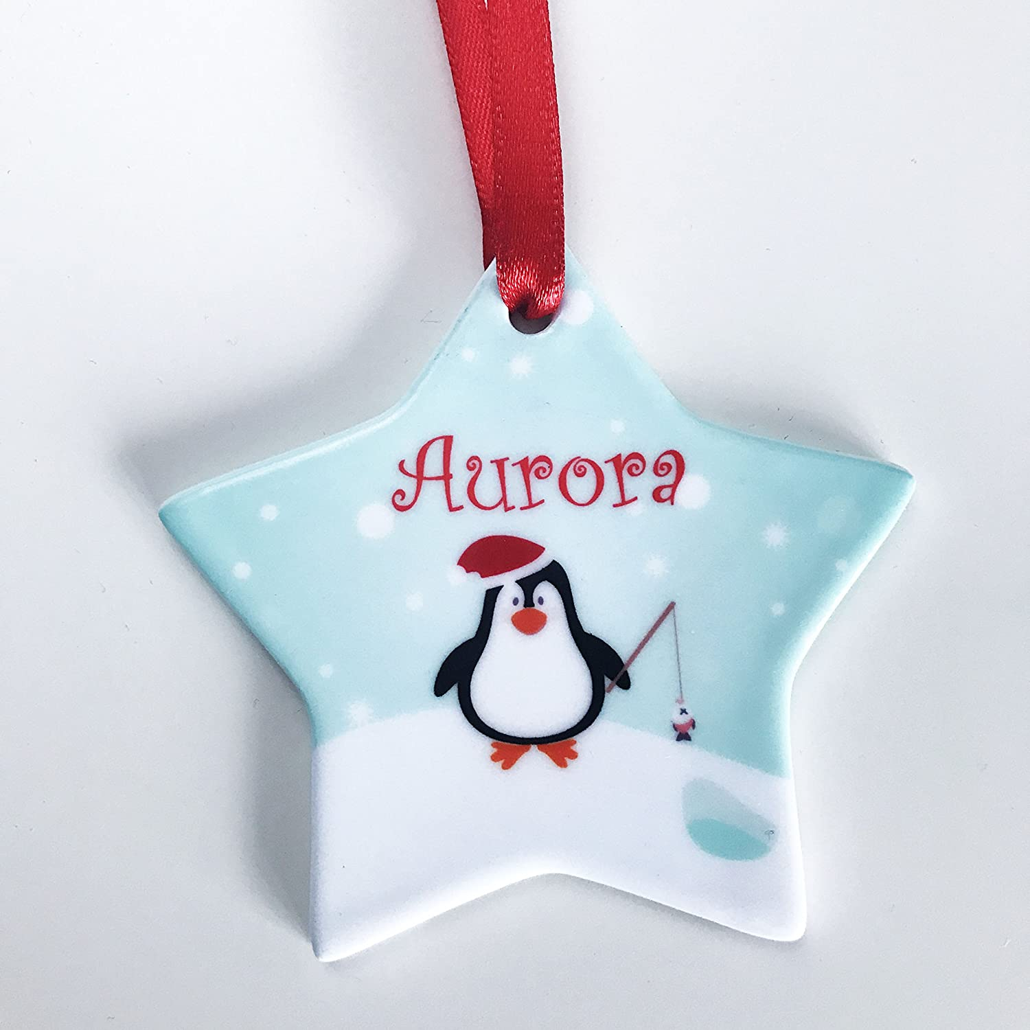 Purple Bauble Decorations Personalised Christmas Decoration Bunting