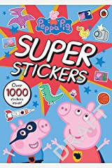 Peppa Pig: Super Stickers Activity Book Paperback