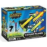 The Original Stomp Rocket Stunt Planes, 3 Planes