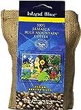 Island Blue 100% Jamaica Blue Mountain Whole Beans Coffee (8oz)