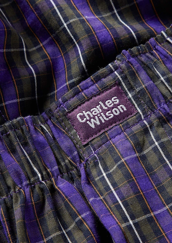 Charles Wilson Calzoncillo Tejido Cuadros Prémium Bóxer de Hombre Paquete 6 Unidades: Amazon.es: Ropa y accesorios