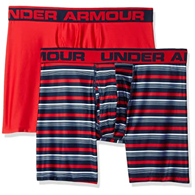 "Under Armour Men's Original Series 6"" Printed Boxerjock 2-Pack"