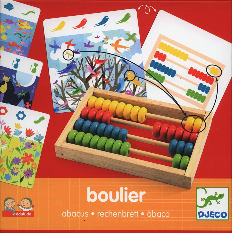 Abaco in Legno Boulier Djeco DJ08352