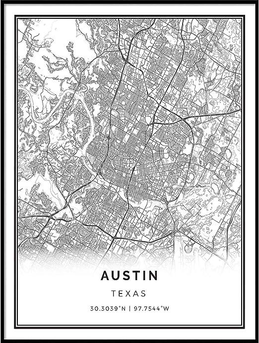 Paris art print signed print of my original hand drawn Paris typography map art Paris map art