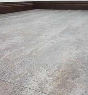 12 in. x 23.82 in. Carrara White Resilient Vinyl Tile Flooring (19.8 ...