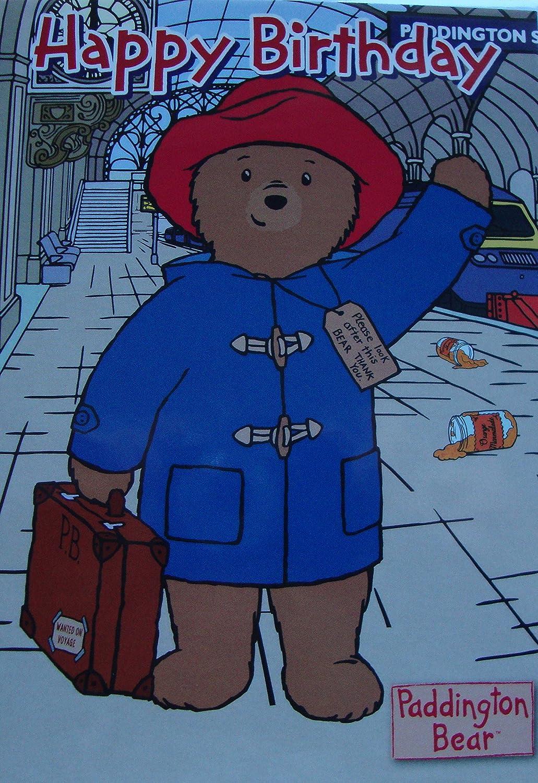 Paddington Bear-Biglietto di auguri di compleanno