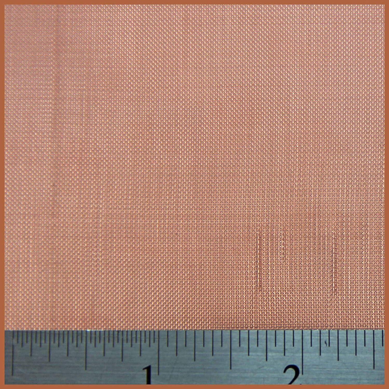 Fine Copper Mesh 1 x 1.2 Metre 60 LPI x 2.63mm Hole x 0.16mm Wire