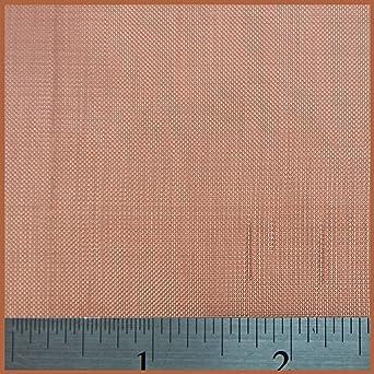 30 LPI x 0.567mm Hole x 0.28mm Wire 1 x 1.2 Metre Coarse Copper Mesh