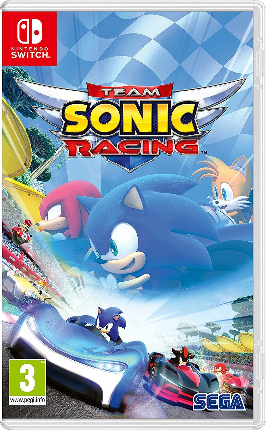 Team Sonic Racing - Nintendo Switch [Importación italiana]: Amazon ...