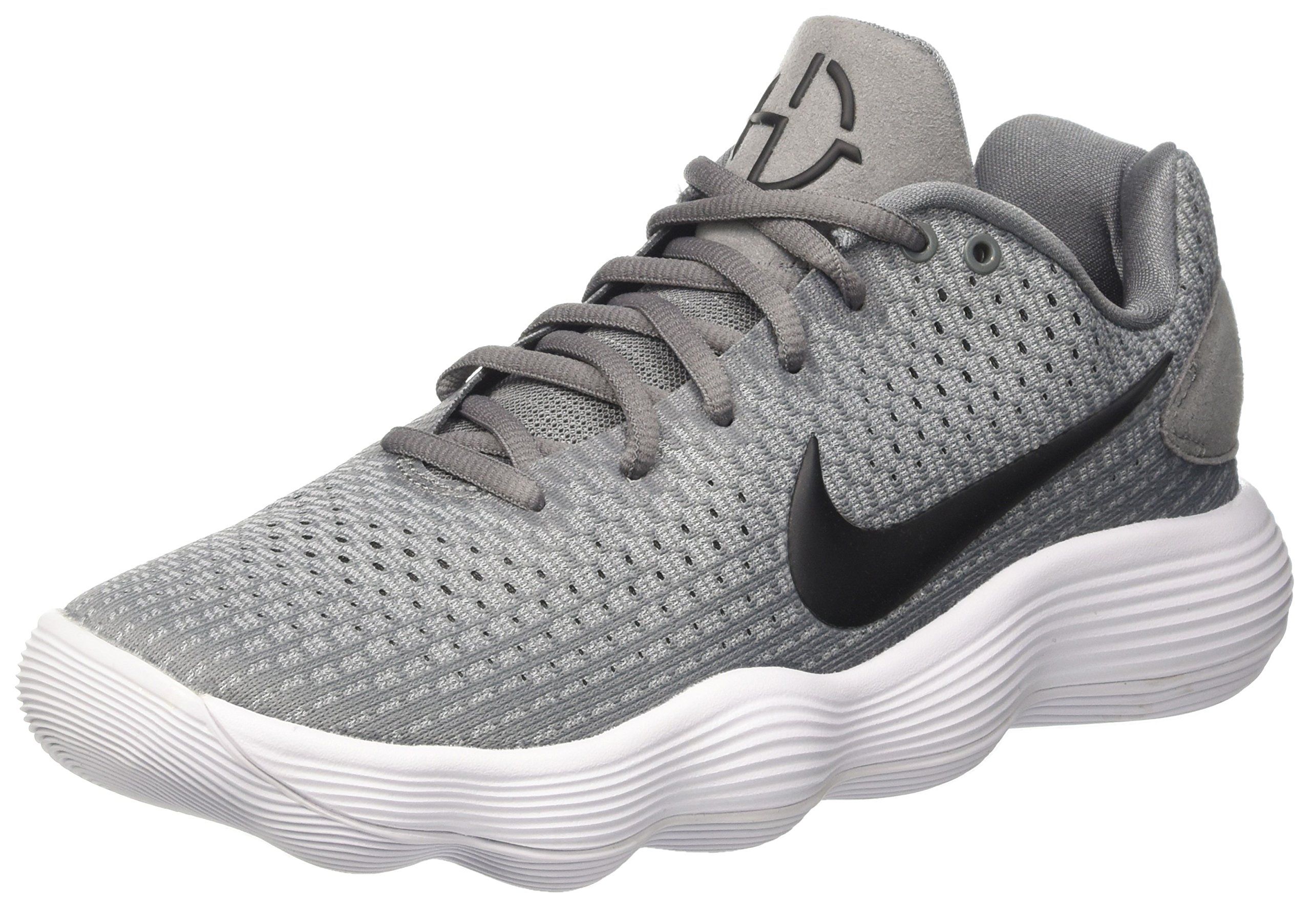 776b28d7d347 NIKE Men s React Hyperdunk 2017 Low Cool Grey Black Wolf Grey Synthetic  Basketball Shoes