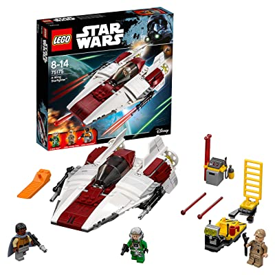 LEGO Star Wars A-Wing Starfighter 75175: Toys & Games