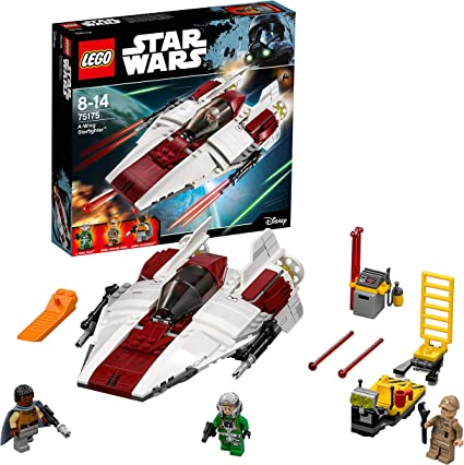 Free US shipping 75175 NEW LEGO Star Wars A-Wing Starfighter ONLY