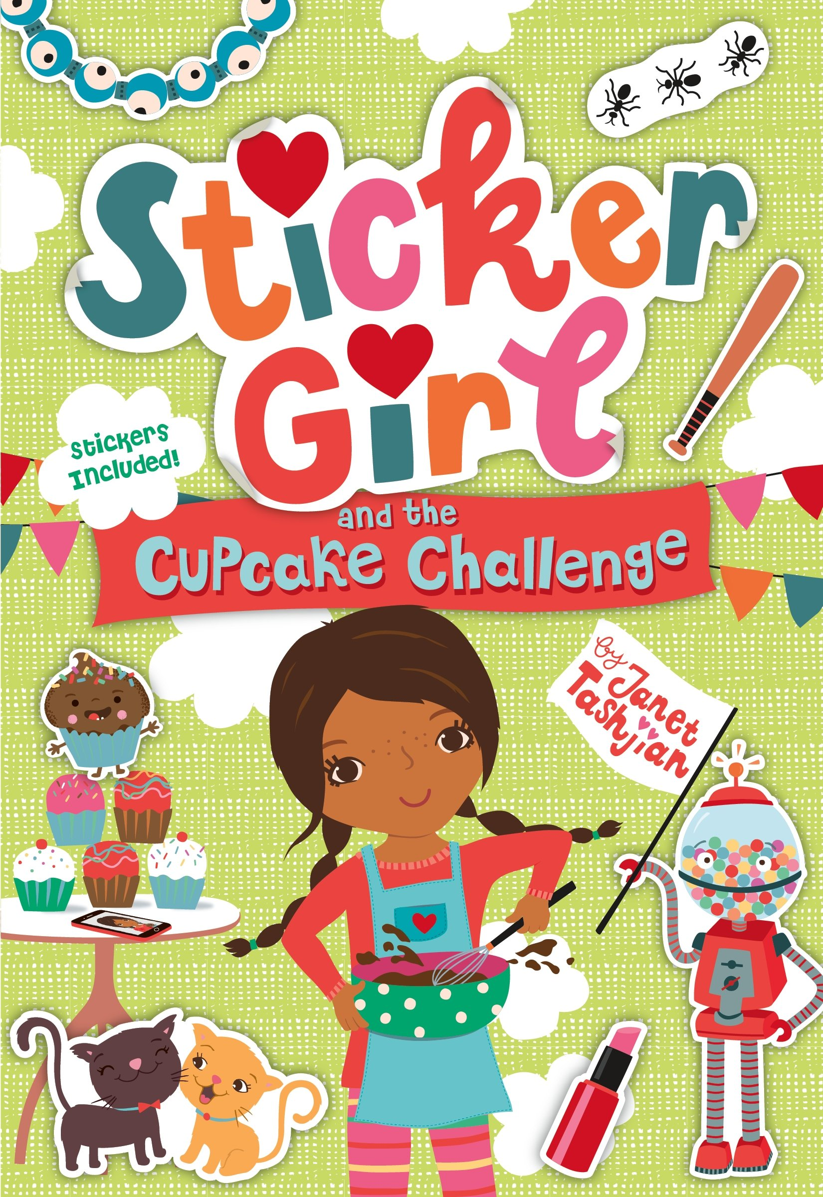 Sticker Girl and the Cupcake Challenge PDF