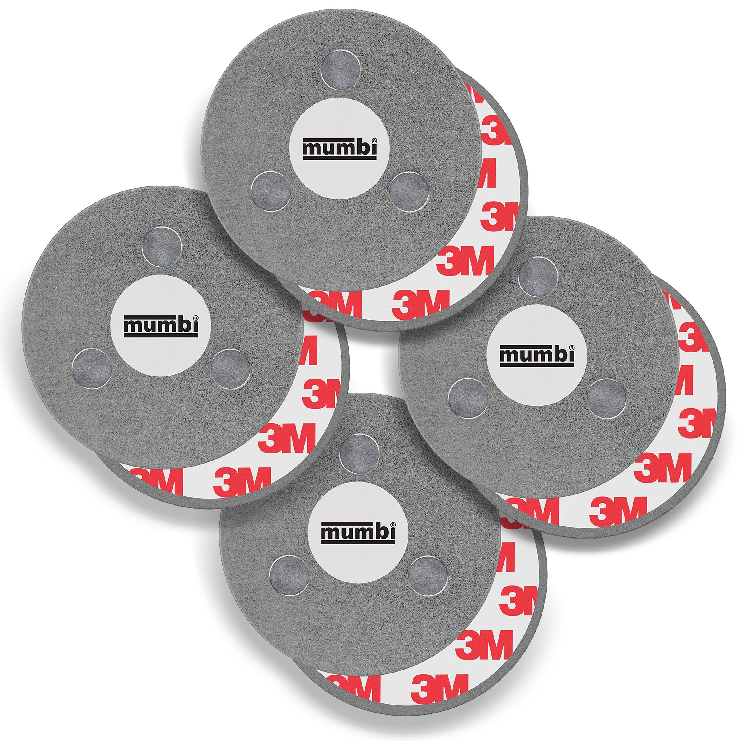 Mumbi lot 4x Supports magnétiques Système de fixation Aimant pour détecteur de fumée (4 Pièces) product image