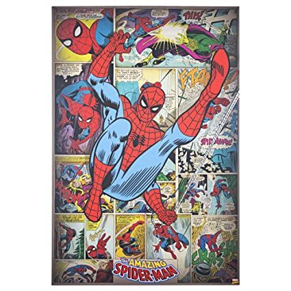 80624241 Image Unavailable. Image not available for. Color: Officially Licensed Marvel  Comics Amazing Spider-Man ...