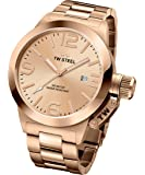 TW Steel Canteen Men's Rose Gold PVD Watch - CB232