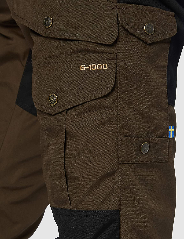 Hombre dk.Olive-dk.Olive 52 Fjallraven Barents Pro Trousers M Sport