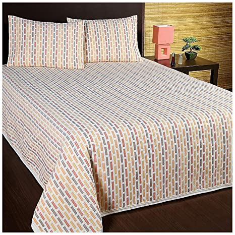 COTTON ART- Colcha PIQUE NARANJA Mod. MEXICO cama de 150 (250 x 260 cm). 40% ALGODÓN-60% POLIÉSTER