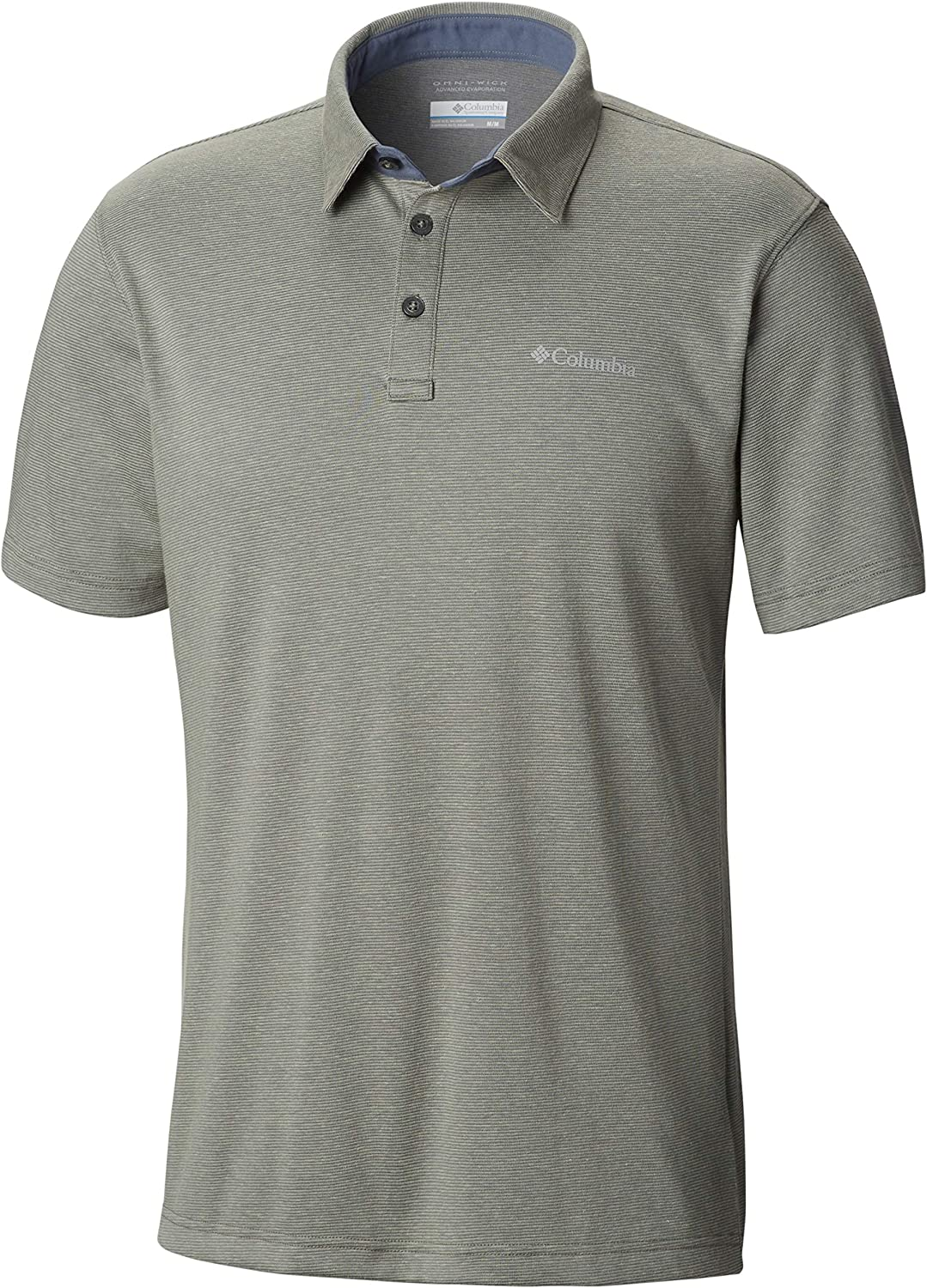 Columbia Men's Thistletown Park Polo, Uv Sun Protection, Breathable: Clothing