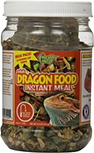 Healthy Herp Adult Dragon Food Instant Meal 3.9-Ounce (110 Grams) Jar