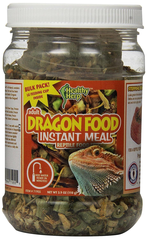 San Francisco Bay Brand SSF71955 Bulk Healthy Herp Bearded Dragon Mix Adult Instant Meal 3.9-Ounce