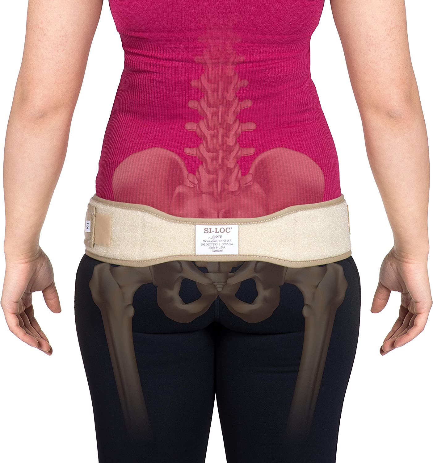 B000X9PE7M OPTP SI-LOC Sacroiliac Support Belt - Large/Extra Large (671) - Low Back and Pelvic Pain Relief 911hnb2BW50L