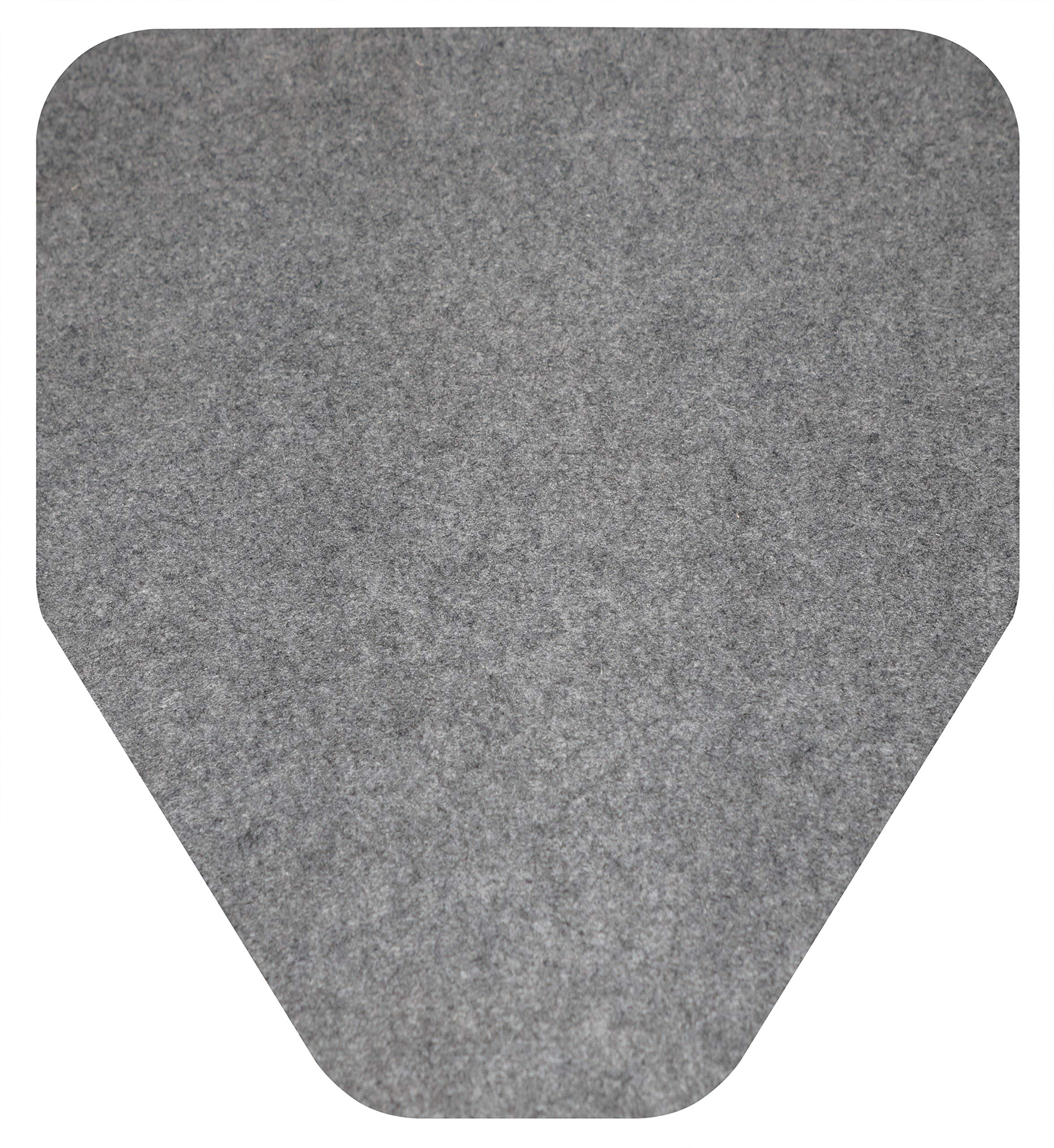 Big D 6669 D-Sorb Urinal Mat, Disposable, Protects Restroom Floor (Pack of 6) - Ideal for restrooms in Offices, Schools, Restaurants, Hotels, Stores