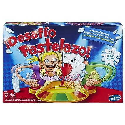 Hasbro Gaming Desafio Pastelazo Amazon Com Mx Juegos Y Juguetes