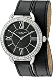 Stuhrling Original Women's 587.02 Deauville Analog Display Quartz Black Watch