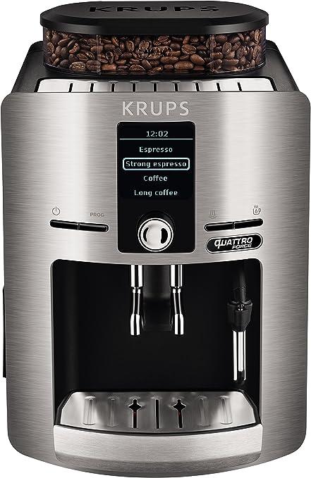 Krups Espresseria Quattro Force EA82FB - Cafetera Superautomática ...