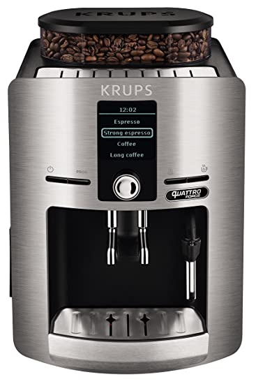 Krups Espresseria Quattro Force Cafetera Automática, 1450 W, 1.7 ...