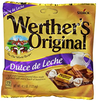Werthers Original Dulce De Leche - 2 Pack (4.5oz Each Bag) - Made